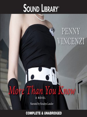Cover of More Than You Know