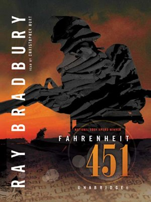 Click this cover for a(n) Audiobook sample of Fahrenheit 451.
