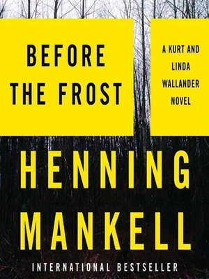 Click this cover for a(n) Audiobook sample of Before the Frost