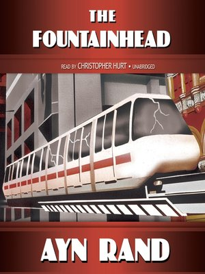 Click this cover for a(n) Audiobook sample of The Fountainhead.