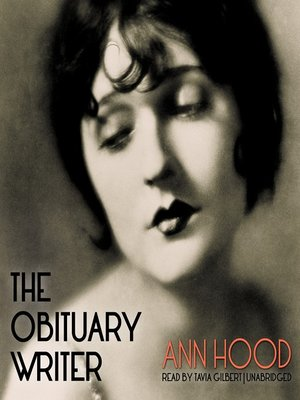 Click this cover for a(n) Audiobook sample of The Obituary Writer.