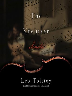 Click this cover for a(n) Audiobook sample of The Kreutzer Sonata