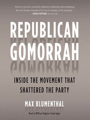 Click this cover for a(n) Audiobook sample of Republican Gomorrah.