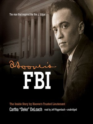 Click this cover for a(n) Audiobook sample of Hoover's FBI