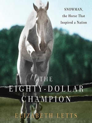Click this cover for a(n) Audiobook sample of The Eighty-Dollar Champion.