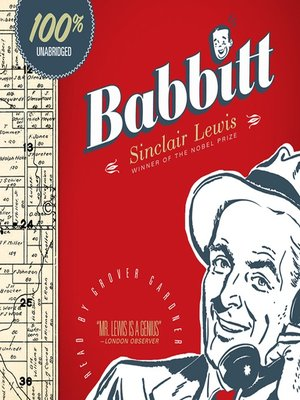Click this cover for a(n) Audiobook sample of Babbitt.