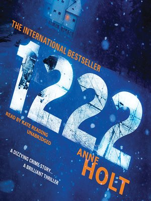 Click this cover for a(n) Audiobook sample of 1222.