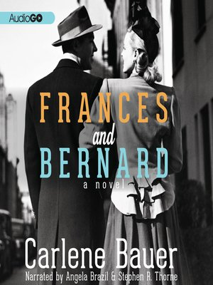 Cover of Frances and Bernard