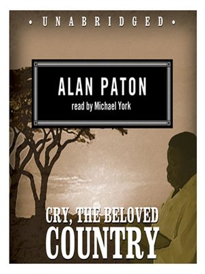 Click this cover for a(n) Audiobook sample of Cry, the Beloved Country