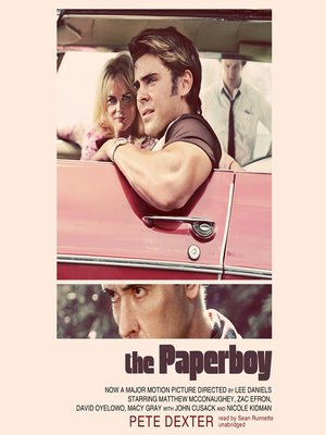 Click this cover for a(n) Audiobook sample of The Paperboy.