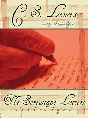 Click this cover for a(n) Audiobook sample of The Screwtape Letters.