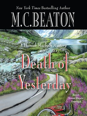 Click this cover for a(n) Audiobook sample of Death of Yesterday.