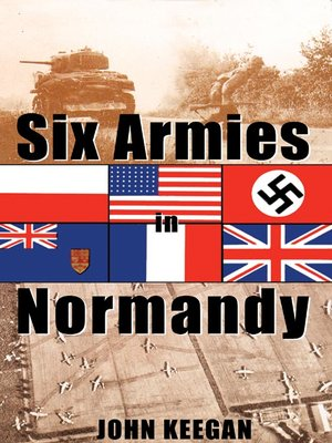 Click this cover for a(n) Audiobook sample of Six Armies In Normandy.