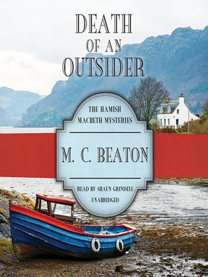 Click this cover for a(n) Audiobook sample of Death of an Outsider.