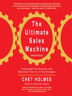 Click this cover for a(n) Audiobook sample of The Ultimate Sales Machine.