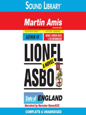 Click this cover for a(n) Audiobook sample of Lionel Asbo.