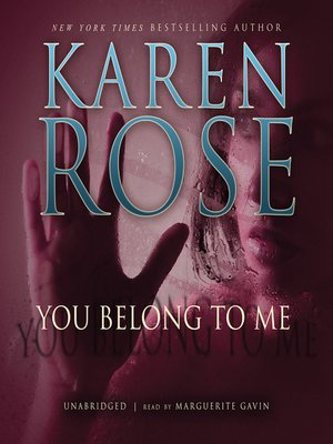 Click this cover for a(n) Audiobook sample of You Belong to Me.