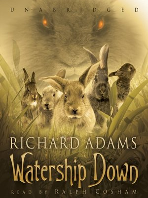 Click this cover for a(n) Audiobook sample of Watership Down.