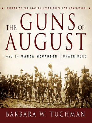Click this cover for a(n) Audiobook sample of The Guns of August.