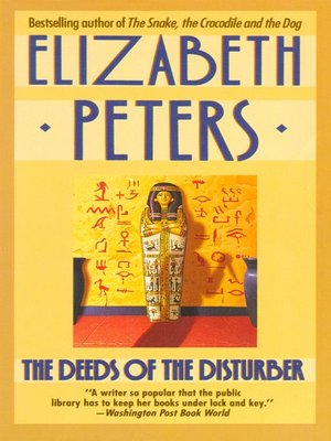 Cover of The Deeds of the Disturber