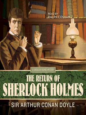 Click this cover for a(n) Audiobook sample of The Return of Sherlock Holmes