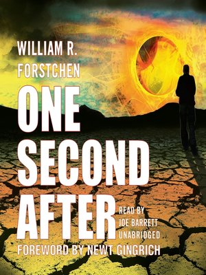 Click this cover for a(n) Audiobook sample of One Second After.