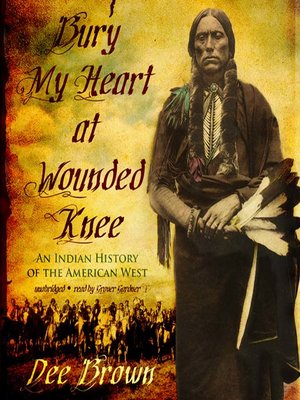 Click this cover for a(n) Audiobook sample of Bury My Heart at Wounded Knee.