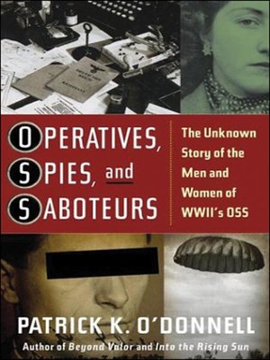 Cover of Operatives, Spies, and Saboteurs
