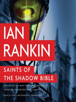 Click this cover for a(n) Audiobook sample of Saints of the Shadow Bible