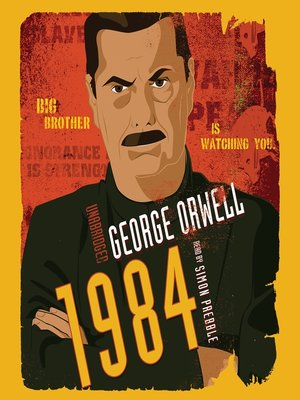 Click this cover for a(n) Audiobook sample of 1984