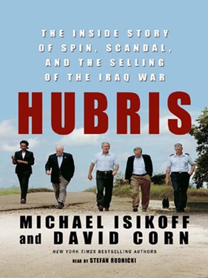 Click this cover for a(n) Audiobook sample of Hubris.