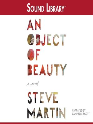 Click this cover for a(n) Audiobook sample of An Object of Beauty
