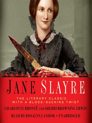 Click this cover for a(n) Audiobook sample of Jane Slayre.