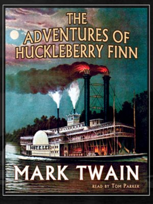 Click this cover for a(n) Audiobook sample of The Adventures of Huckleberry Finn
