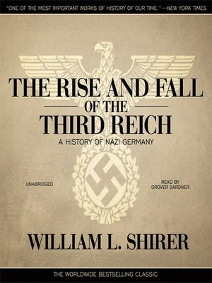Click this cover for a(n) Audiobook sample of The Rise and Fall of the Third Reich.