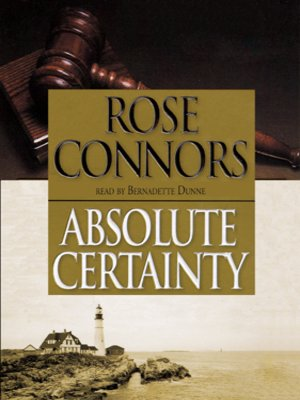 Click this cover for a(n) Audiobook sample of Absolute Certainty.