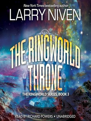 Click this cover for a(n) Audiobook sample of The Ringworld Throne.
