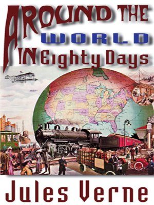 Click this cover for a(n) Audiobook sample of Around the World in Eighty Days.