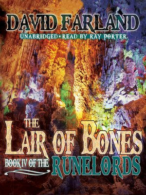 Click this cover for a(n) Audiobook sample of The Lair of Bones.