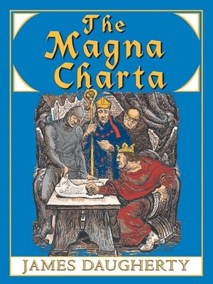 Click this cover for a(n) Audiobook sample of The Magna Charta