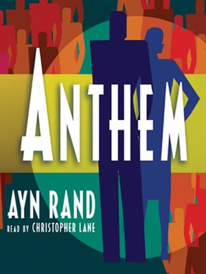 Click this cover for a(n) Audiobook sample of Anthem.