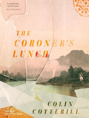 Click this cover for a(n) Audiobook sample of The Coroner's Lunch.