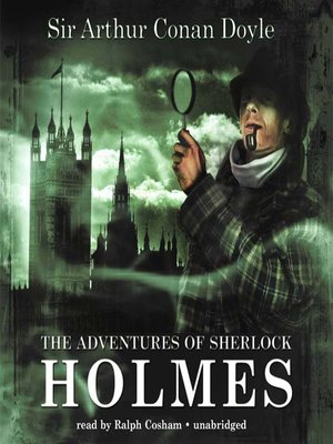 Click this cover for a(n) Audiobook sample of The Adventures of Sherlock Holmes.