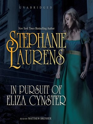 Click this cover for a(n) Audiobook sample of In Pursuit of Eliza Cynster.