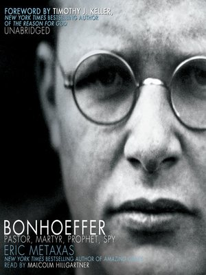 Cover of Bonhoeffer