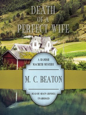 Click this cover for a(n) Audiobook sample of Death of a Perfect Wife.