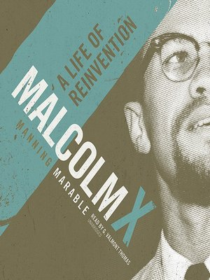 Click this cover for a(n) Audiobook sample of Malcolm X