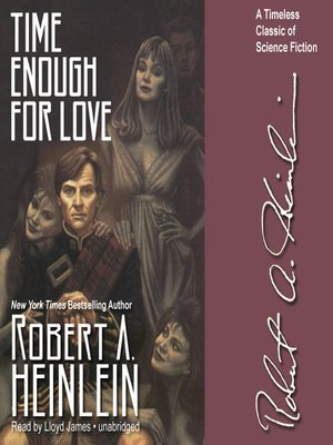 Click this cover for a(n) Audiobook sample of Time Enough for Love.