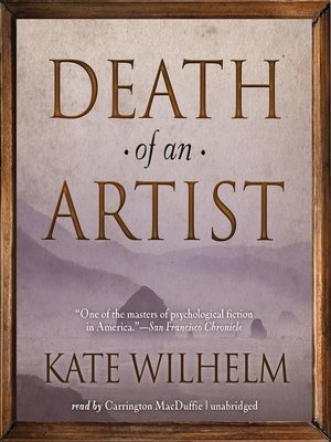 Click this cover for a(n) Audiobook sample of Death of an Artist.