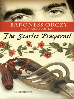 Click this cover for a(n) Audiobook sample of The Scarlet Pimpernel.